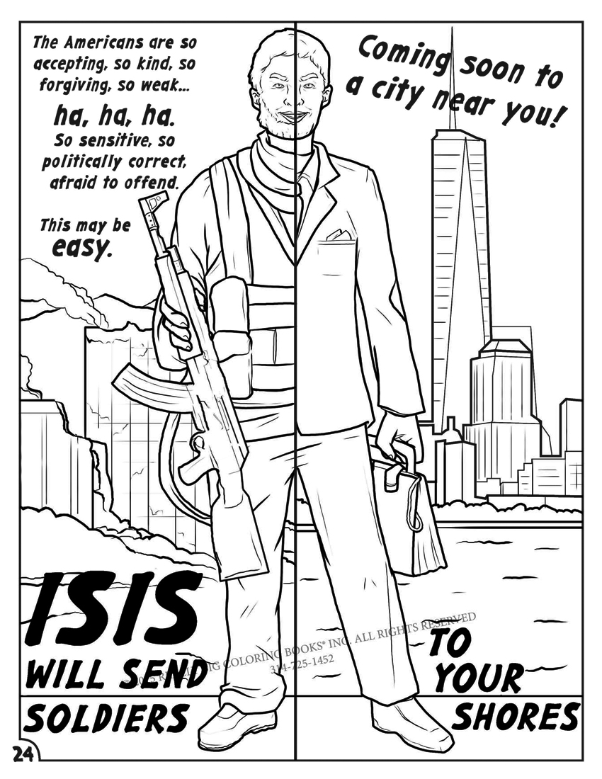Anti ISIS Coloring Comic Book Proves Accurate Educates on