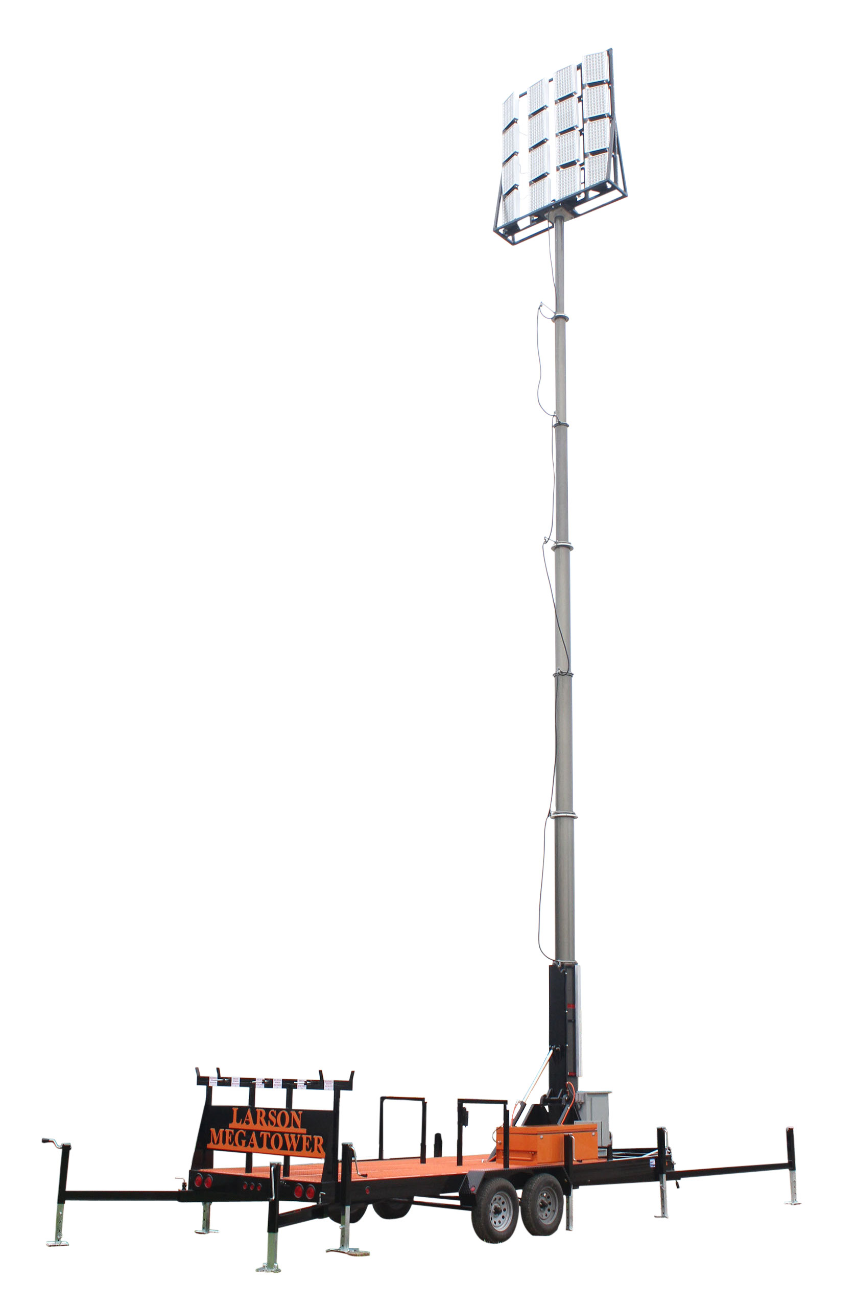 50 Megatower Pneumatic Light Mast Manufactured By Larson