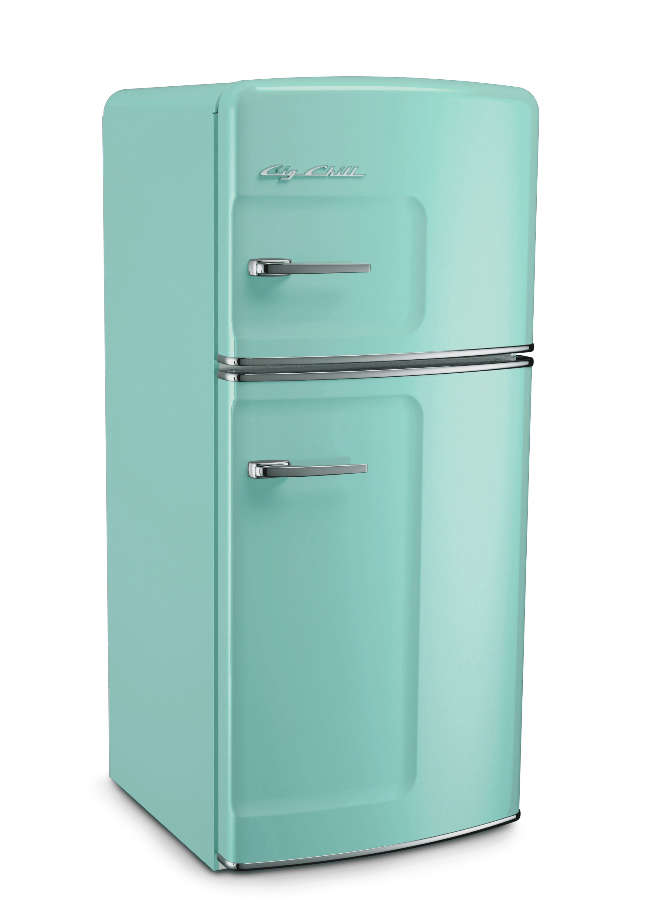 turquoise kitchen appliances wall paper big chill showcases new designs colors and products at