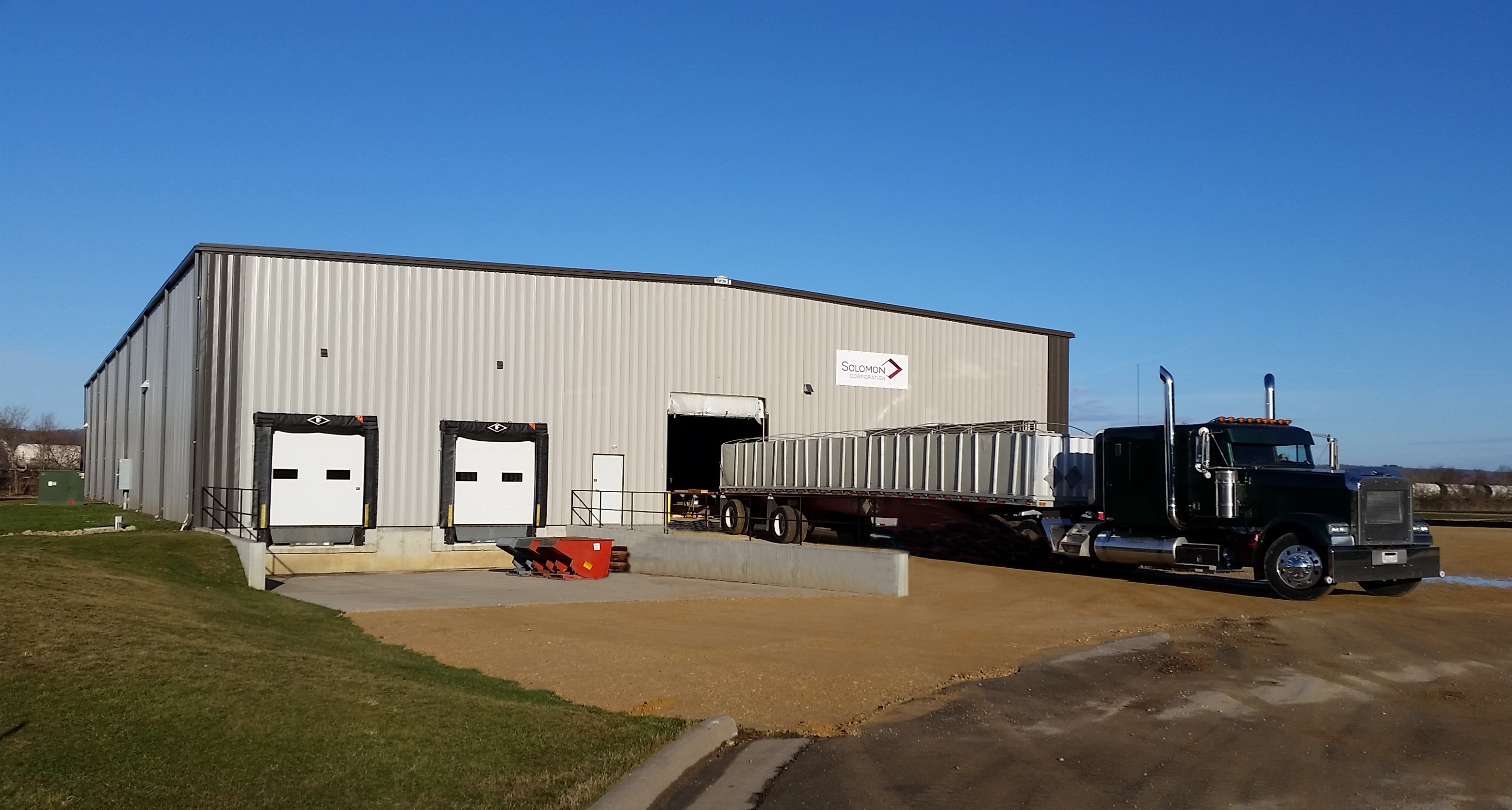 Solomon Corporation Opens Facility in Prairie du Chien Wisconsin