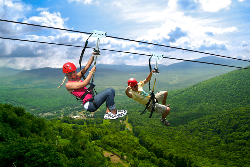 New York Zipline Adventures at Hunter Mountain Named One of the Worlds Most Amazing Zip Lines