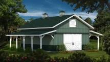 Timber Frame Barn Home Kits