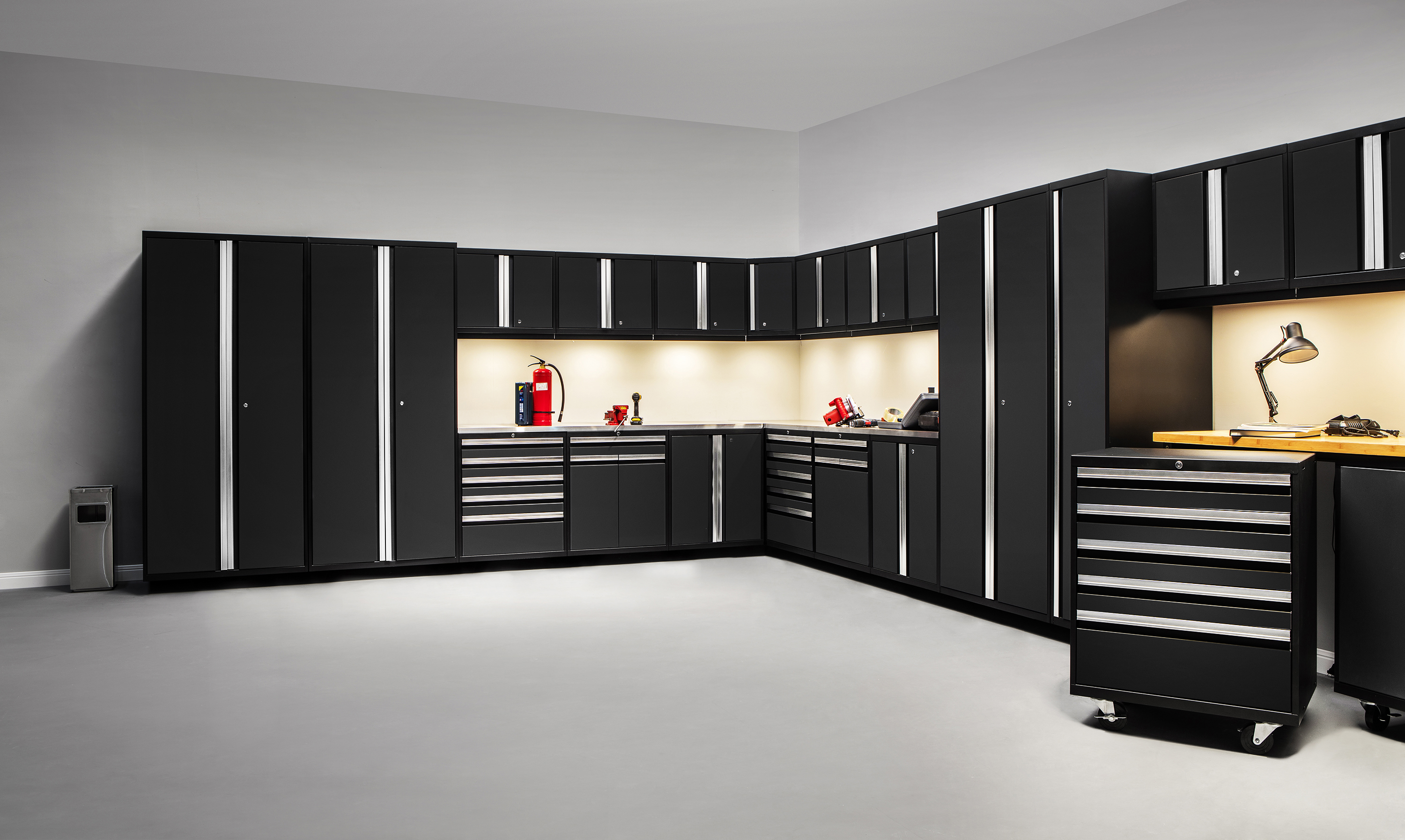 New Modular Garage Storage System by Tailored Living
