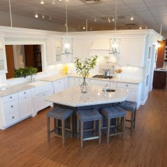Kitchen And Bath Design Center Copper Sink Faucet Renovation Of Showroom Complete Kitchens Baths Tile Hardwood Countertops Course Plumbing Supplies Make This A One Stop Shop For Contractors Homeowners