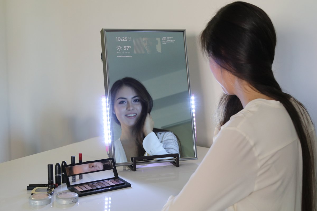 Worlds First Consumer Smart Mirror Released