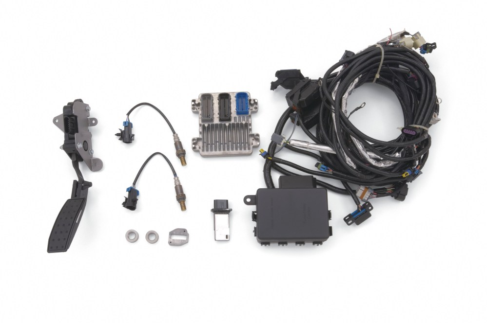 medium resolution of chevrolet performance crate engine controller kit for ls2 crate engines
