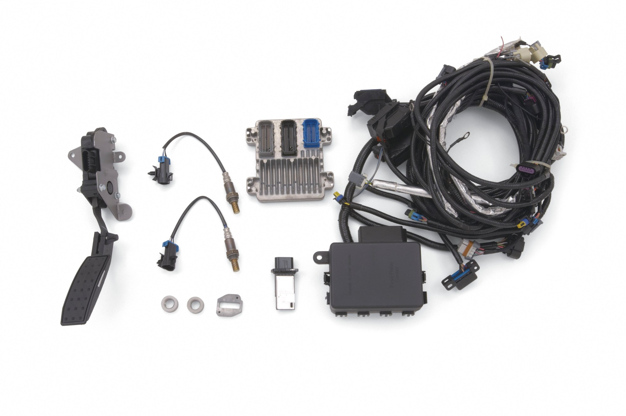 hight resolution of chevrolet performance crate engine controller kit for ls2 crate engines