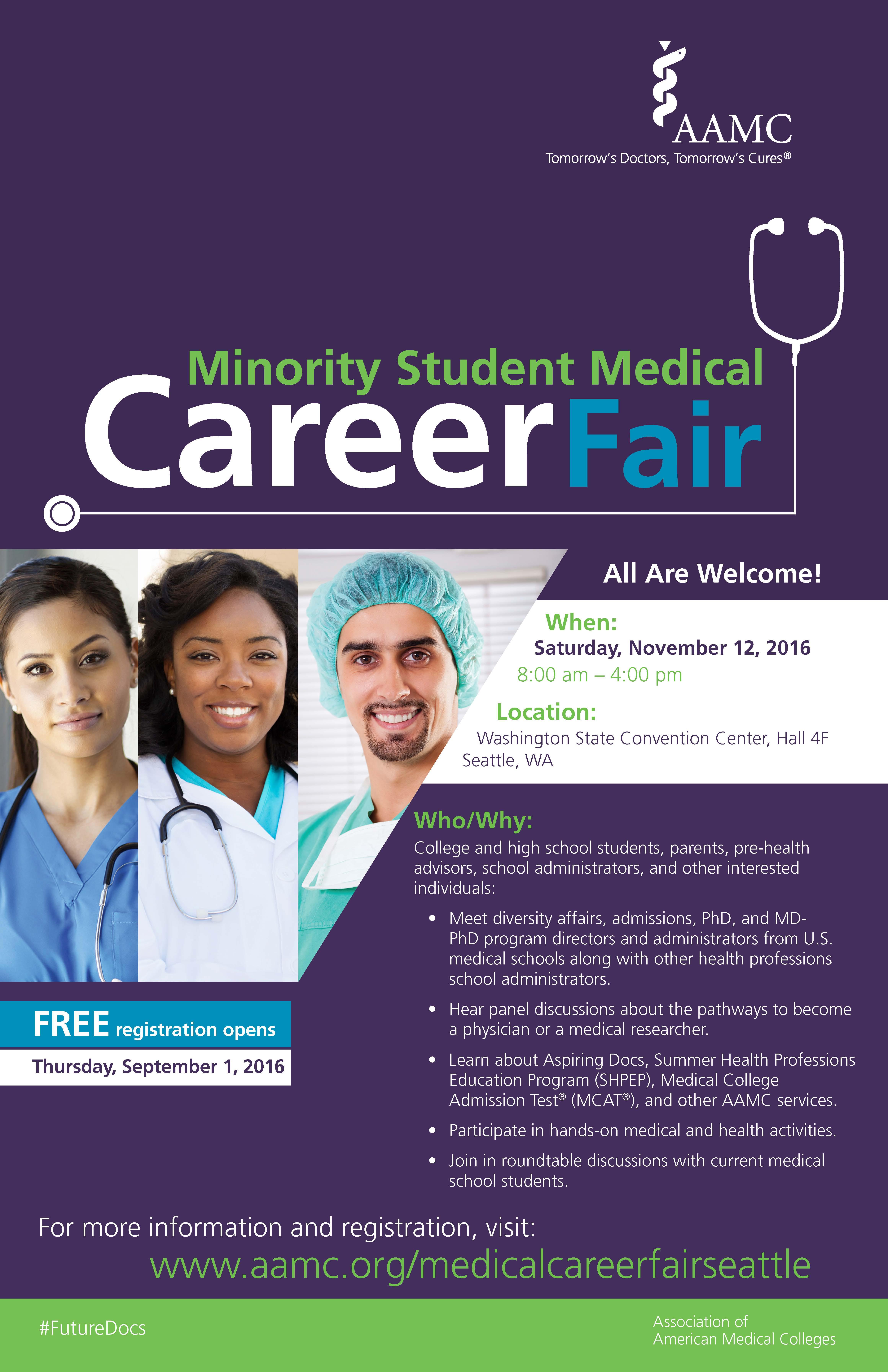 AAMC Career Fair Focuses on Minority Doctors