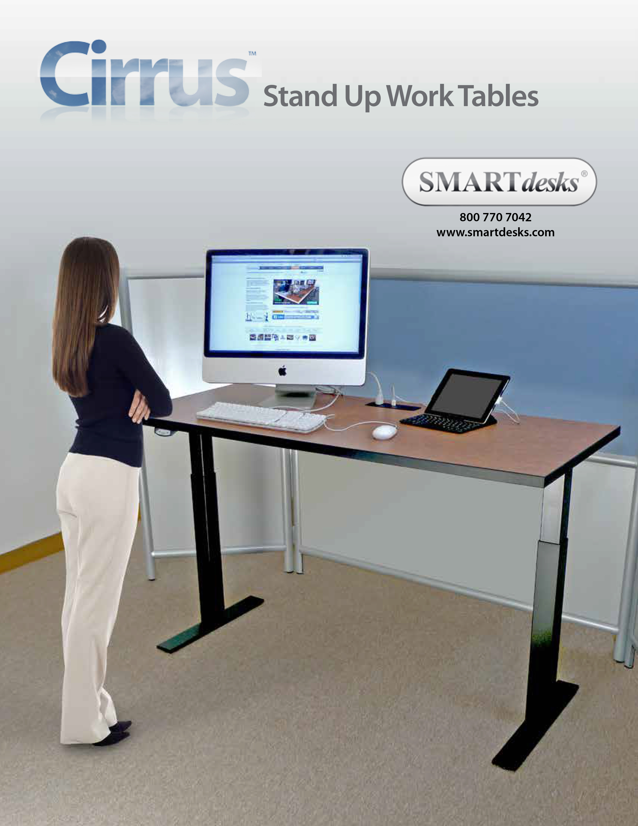 Stand Up Smart Desks New Line Makes It Easier for People
