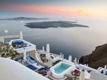 Santorini Greece Cave Hotels