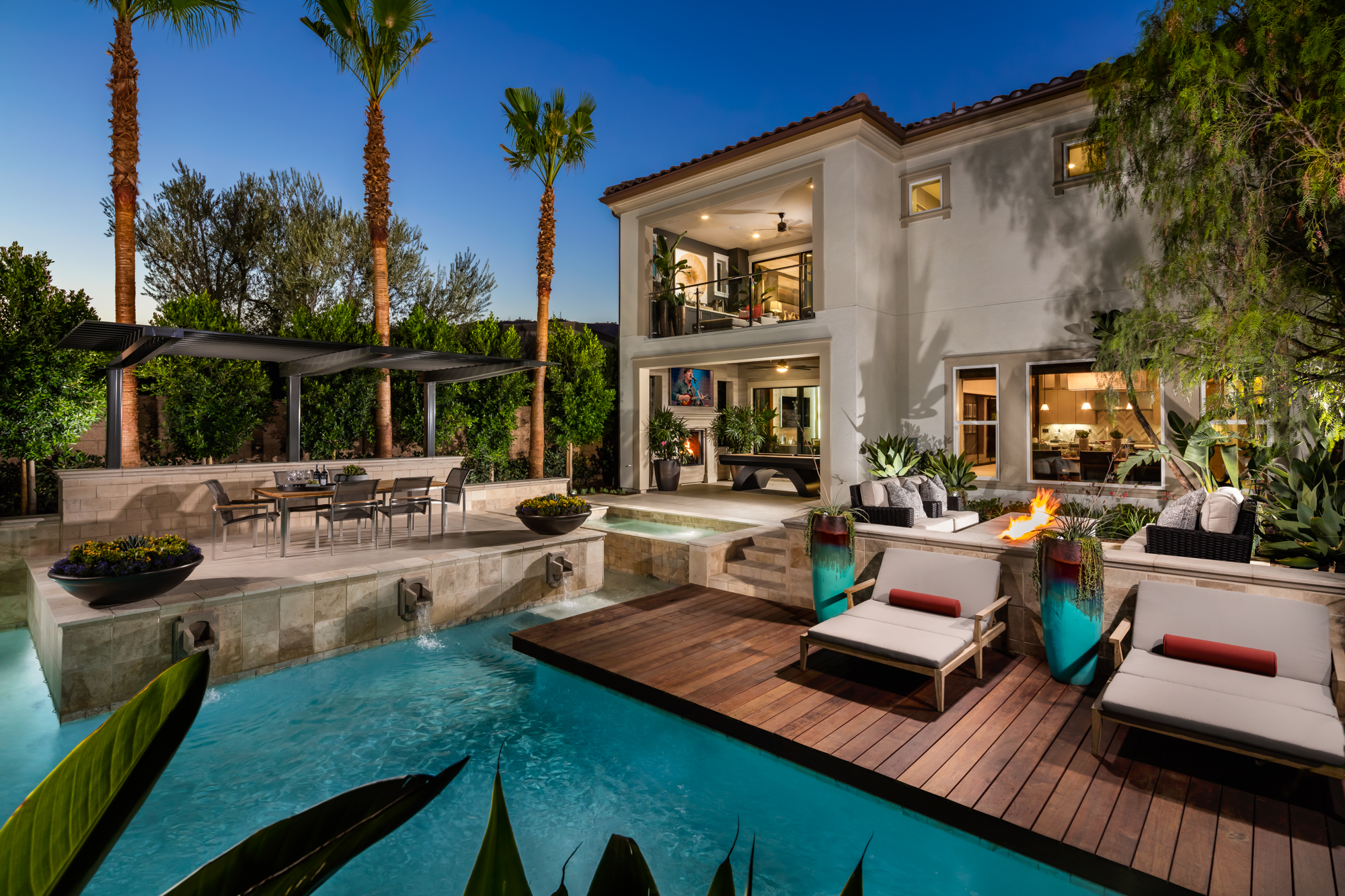 Luxury Homes at Toll Brothers Porter Ranch Eclipse 2 Million