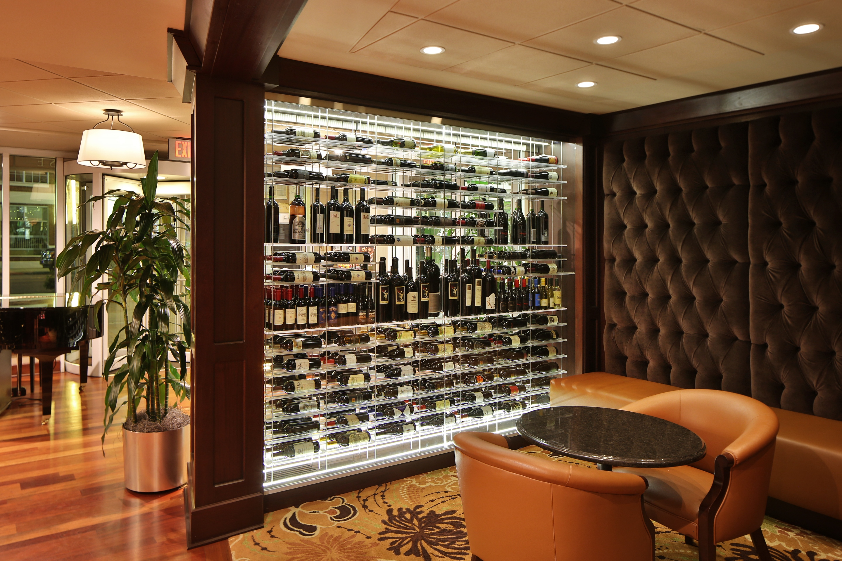 Kessick Completes Stunning Elevate Wine Display at Halls
