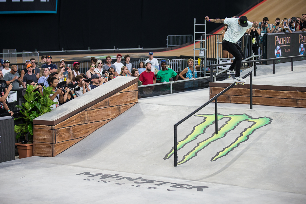 Monster Energy's Nyjah Huston Takes Third Place In Monster
