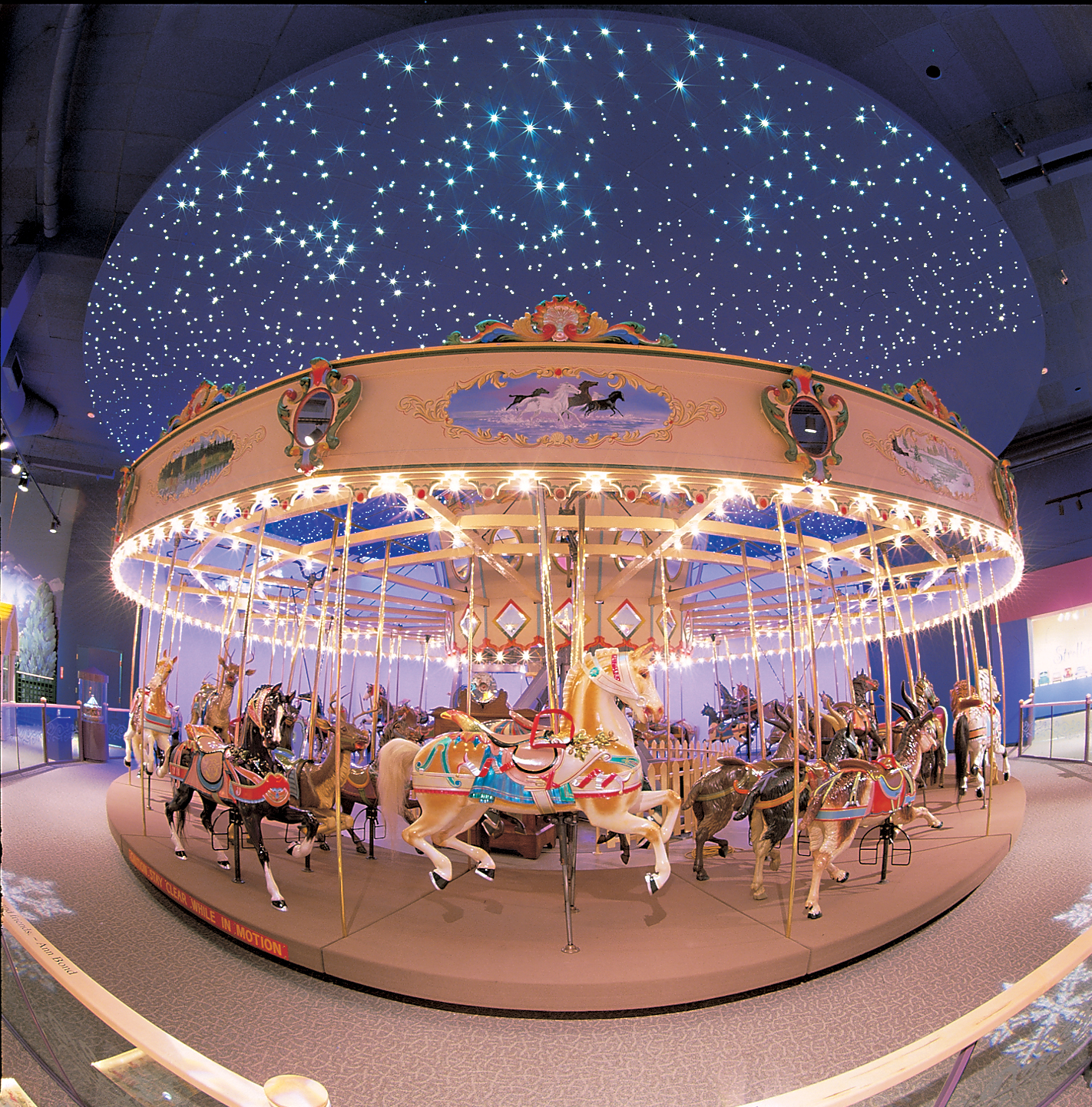 A Century Of Wishes And Dreams Come True As The Dentzel Carousel At The Childrens Museum Of