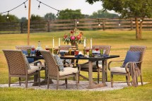 Blue Oak Outdoor Furniture Set