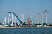 Cedar Point Ohio Roller Coaster