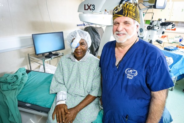 000th Free Surgery Mercy Ships Onboard