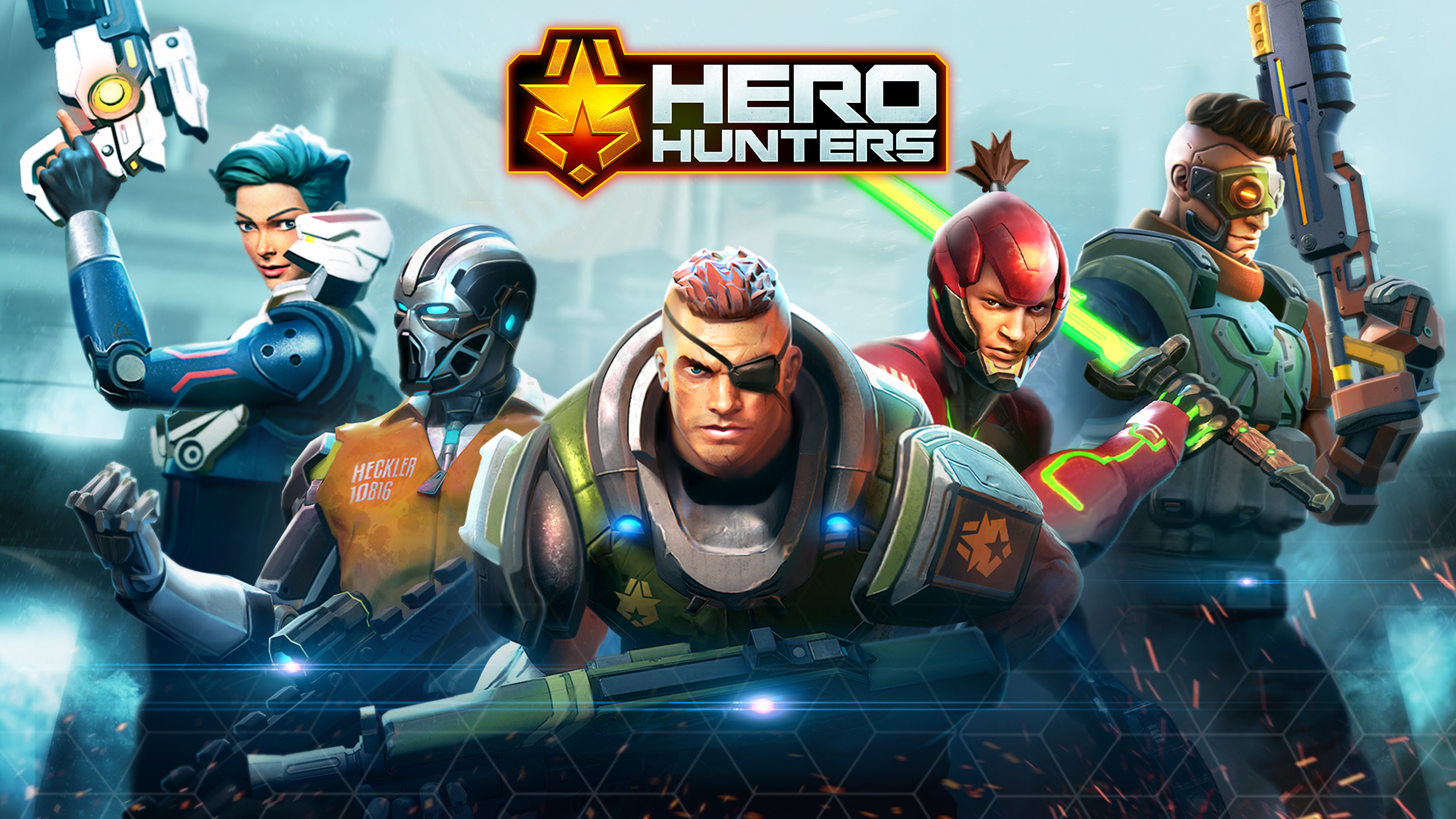 Hothead Games Teambased Shooter Hero Hunters Launches