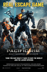 Pacific Rim: Shatterdome Defenders Poster