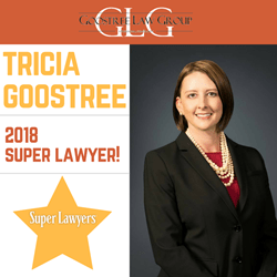 Tricia Goostree | 2018 Super Lawyer | Family Law Attorney