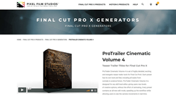 ProTrailer Cinematic Volume 4 - Pixel Effects - FCPX Plugins