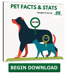 In observation of National Love Your Pet Day, CIC is offering a no cost download of our Pet Facts and Stats infographic