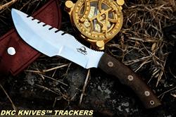 Sierra Tracker Survival Prepper Hunting Knife- Premium Survival Knife