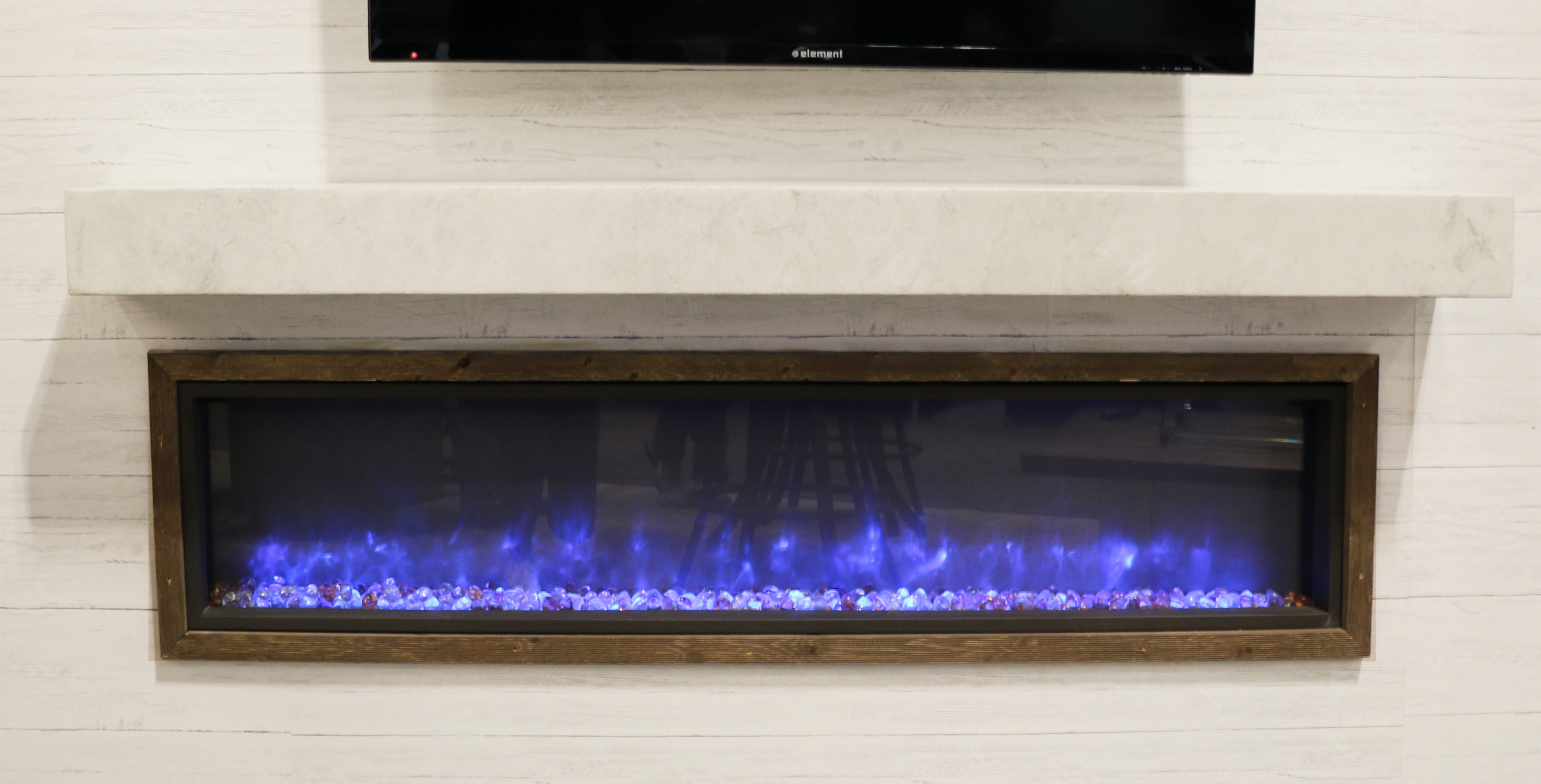 New Product White Onyx NonCombustible Supercast Mantel