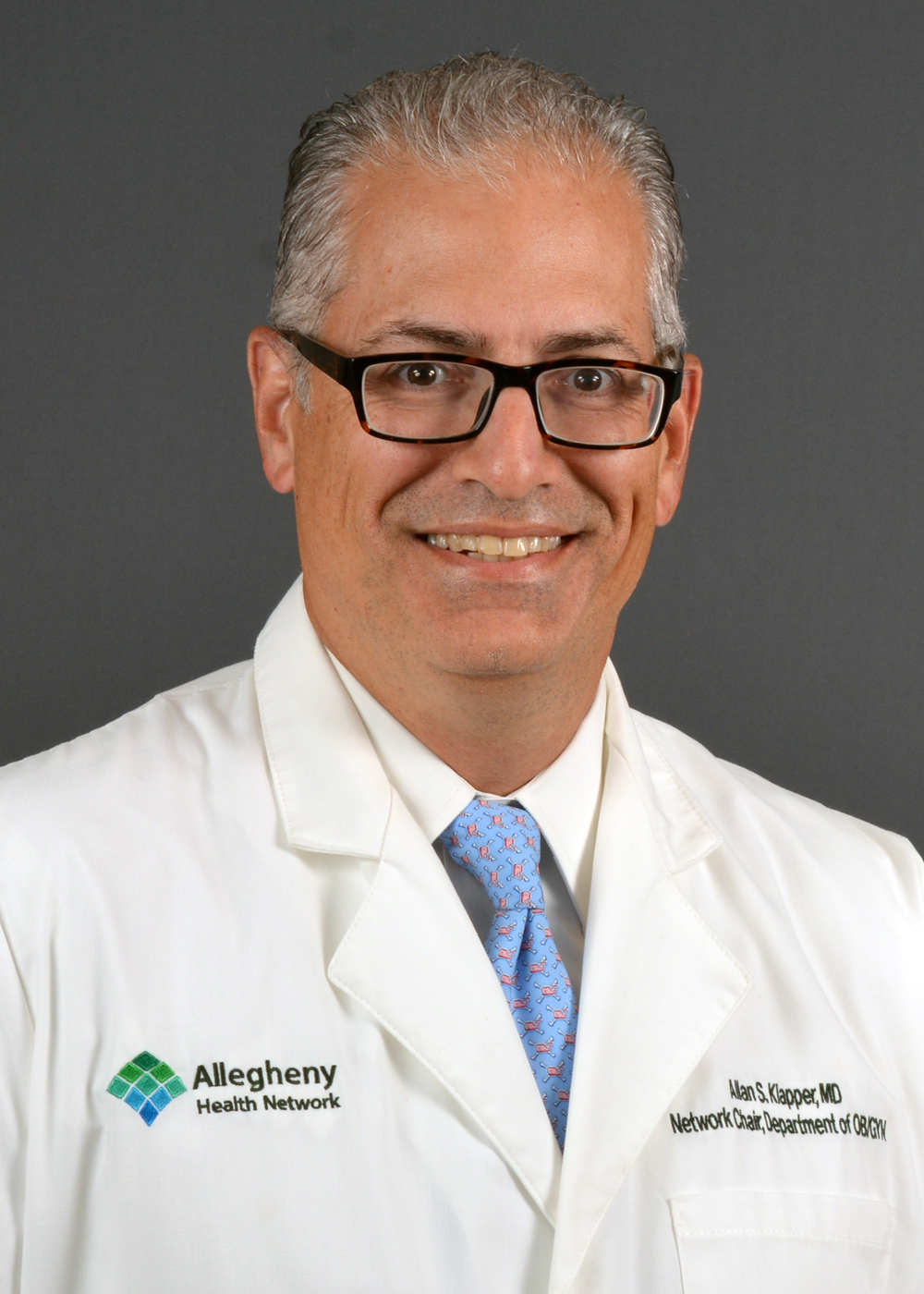 Allegheny Health Network Names Allan Klapper MD