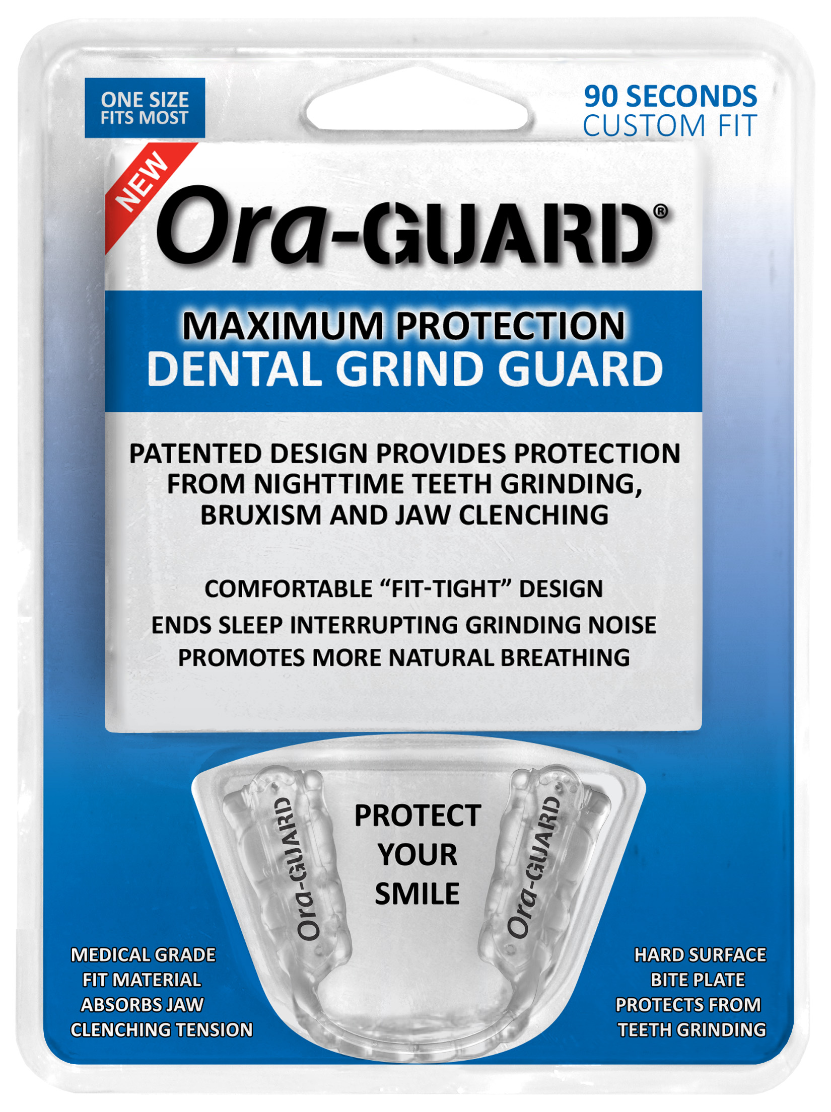 Mouth Guard For Grinding Teeth Walgreens : mouth, guard, grinding, teeth, walgreens, Ora-GUARD®, Dental, Grind, Guard, Available, Walgreens, Stores