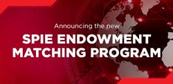 SPIE Announces $2.5 million Endowment Matching Program