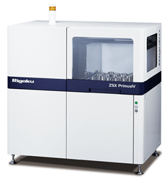 Rigaku ZSX Primus IV sequential WDXRF spectrometer