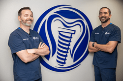 Drs. Dan Holtzclaw and Juan Gonzalez, Dental Implant Surgeons at DIA Dental Implant Center in Austin and San Antonio, TX