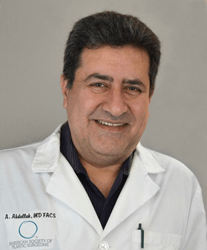 Dr. Ahmed Abdullah is a board-certified plastic surgeon and the founder/lead formulator at Lexli Skin Care.