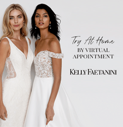 Kelly Faetanini Introduces Virtual Wedding Gown Try At Home Experience