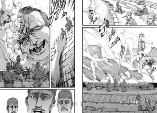 空投巨人戰術,進擊的巨人第92 話圖透