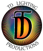 TD Lighting Productions Logo