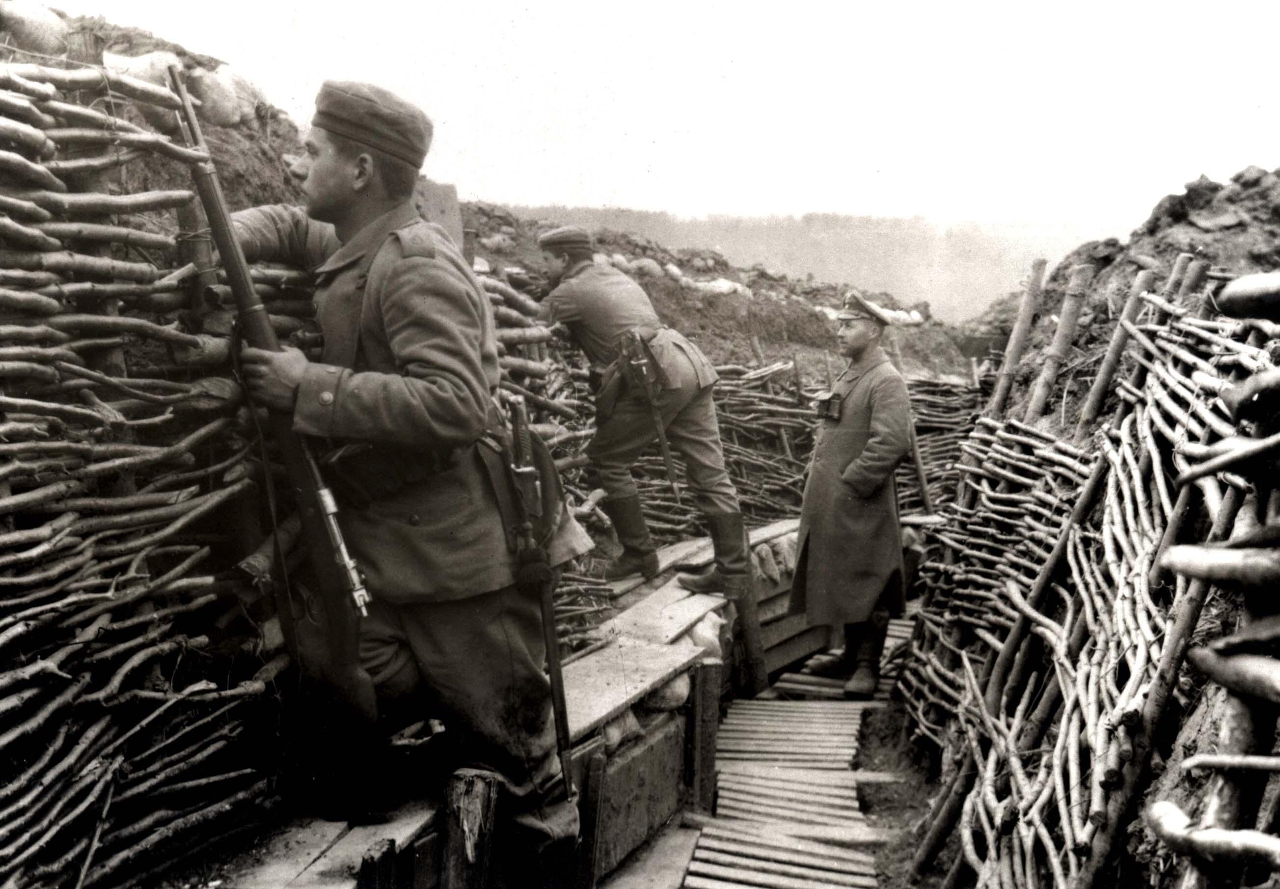 14 September Trench Warfare