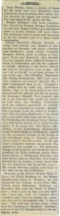 1914 WW1 week 21 Llandysul