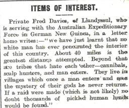 1915 WW1 week 31 pickled human heads