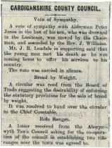 1915 week 53 CTA 30-7-15 Vote of sympathy