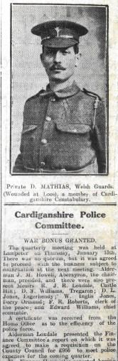 1916 week 78 CN 28-1-16 Private D. Mathias