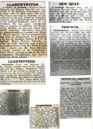 1916 week 78 Newspapers 28-1-16 Local news 2