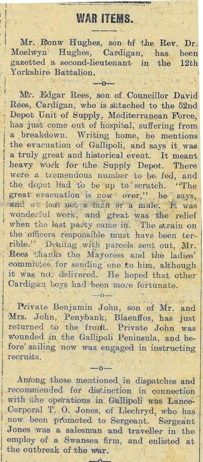 1916 week 79 CTA 4-2-16 War items