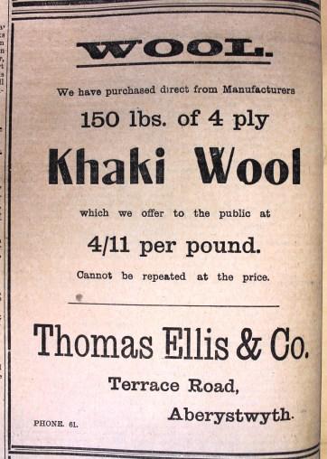 1916 week 80 CN 11-2-16 Khaki wool