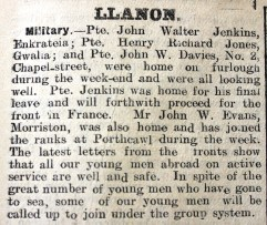 1916 week 83 CN 2-3-16 Llanon
