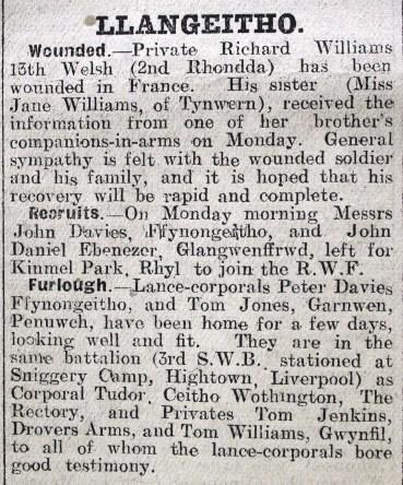 1916 week 83 CN 3-3-16 Llangeitho