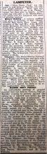 1916 week 85 CTA 17-3-16 Lampeter