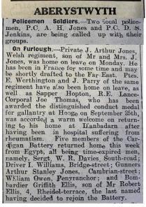 1916 week 88 CN 7-4-16 Aberystwyth news