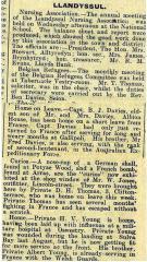 1916 week 88 CTA 7-4-16 Llandysul